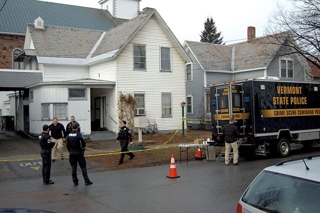 The scene of the shooting on Elmwood Avenue - MATTHEW ROY
