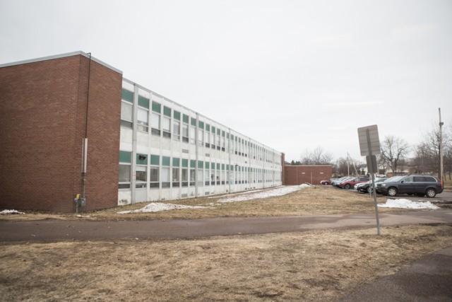 On the Winooski school campus - FILE: LUKE AWTRY