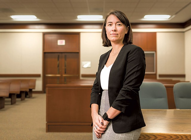 Chittenden County State's Attorney Sarah George - FILE: OLIVER PARINI