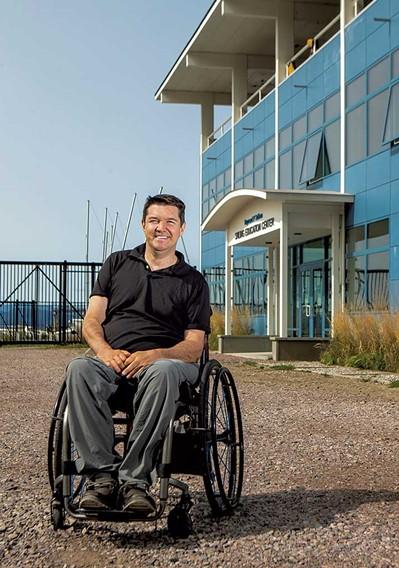 Owen Milne, Executive Director, Lake Champlain Community Sailing Center - JAMES BUCK