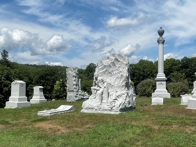 Hope Cemetery - COURTESY OF BARBARA IAMS KOREIN