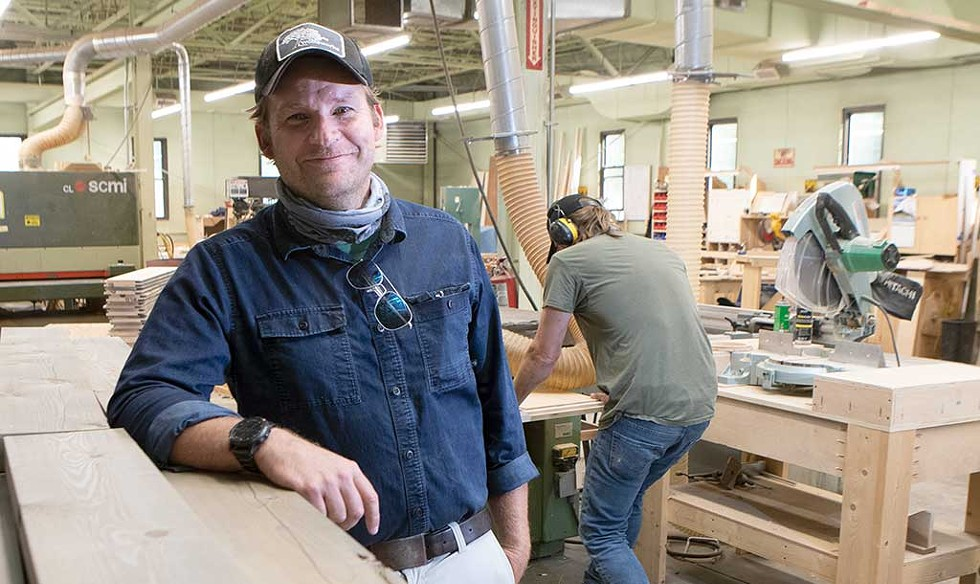 Sean Flynn, Owner, Silver Maple Construction, New Haven - JAMES BUCK