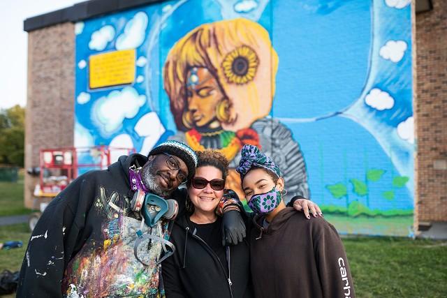 Will Kasso Condry, Jennifer Herrera Condry and Alexa Herrera Condry - COURTESY OF HOMER HOROWITZ