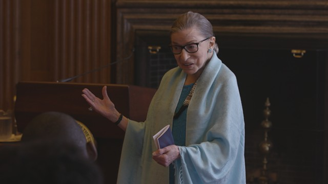 Ruth Bader Ginsburg in 'RBG' - COURTESY OF MAGNOLIA PICTURES/CNN FILMS
