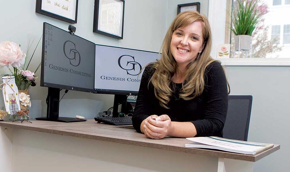 Julie Goodall, Owner, Genesis Consulting, South Burlington - JAMES BUCK