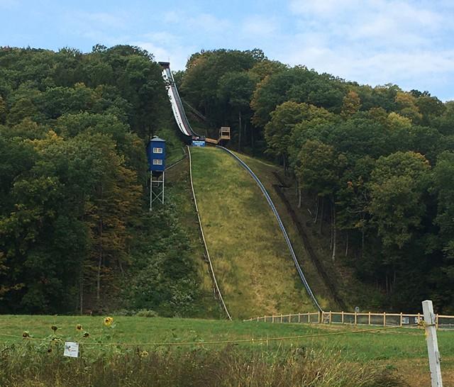 Harris Hill Ski Jump - PAMELA POLSTON ©️ SEVEN DAYS