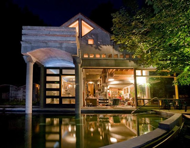 Architect David Sellers' home at Prickly Mountain - COURTESY OF DAVID SELLERS