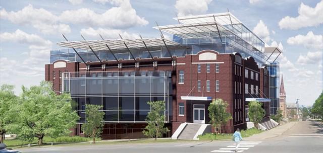 Memorial Gateway Center - COURTESY OF FREEMAN FRENCH FREEMAN