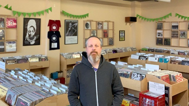 Greg Davis, owner of Autumn Records - COURTESY OF GREG DAVIS