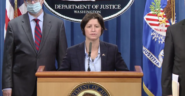 Christina Nolan, U.S. Attorney for the District of Vermont - SCREENSHOT