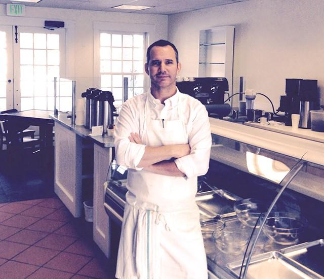 Brent Gosselin of Norwich Squares Café - LEE MICHAELIDES