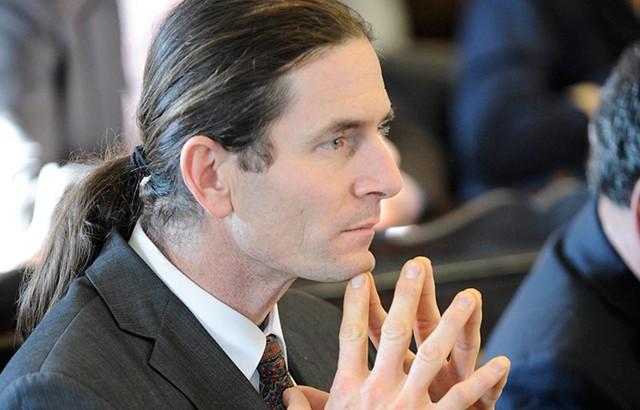 Sen. David Zuckerman (P/D-Chitttenden), a Democratic candidate for lieutenant governor. - JEB WALLACE-BRODEUR