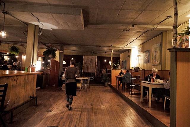 The Black Krim Tavern's new larger space - COURTESY OF CHIP NATVIG
