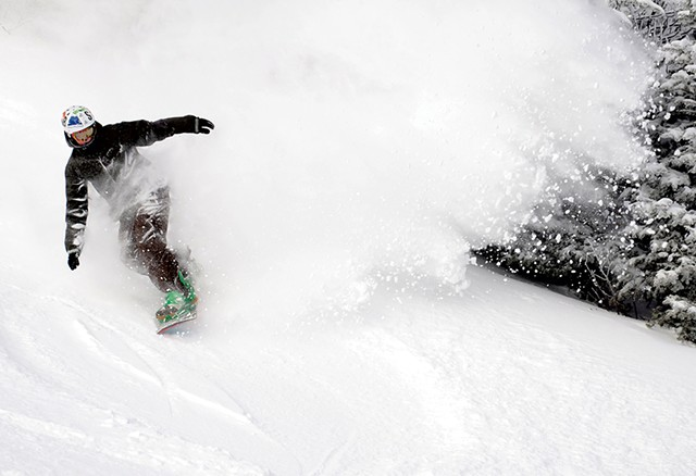 Snowboarder - FILE: JEB WALLACE-BRODEUR