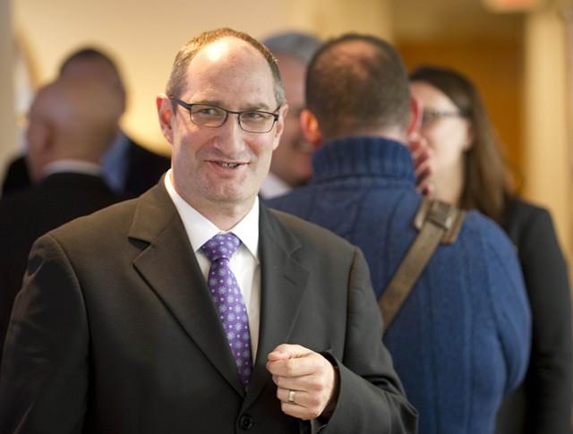 Secretary of Administration Justin Johnson - JEB WALLACE-BRODEUR