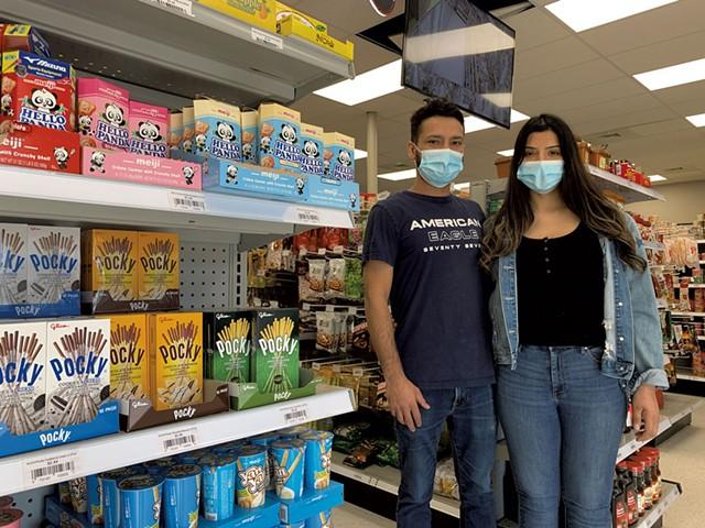 Damber and Uma Adhikari of Asian Mart - MELISSA PASANEN