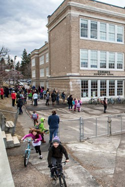 Edmunds Elementary School in Burlington - FILE: SEVEN DAYS