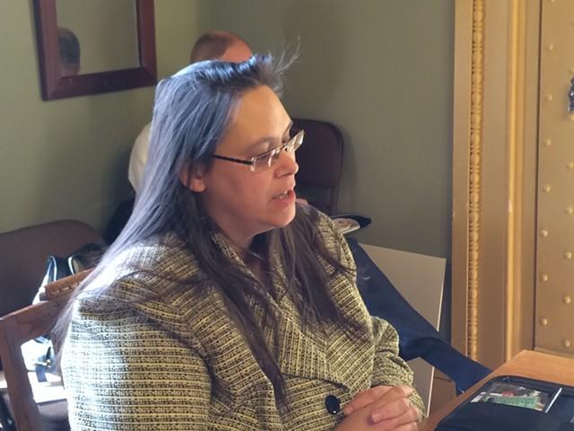 Lisa Menard, corrections commissioner - NANCY REMSEN