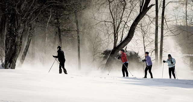 A ski tour - COURTESY OF MATT TRUEHEART