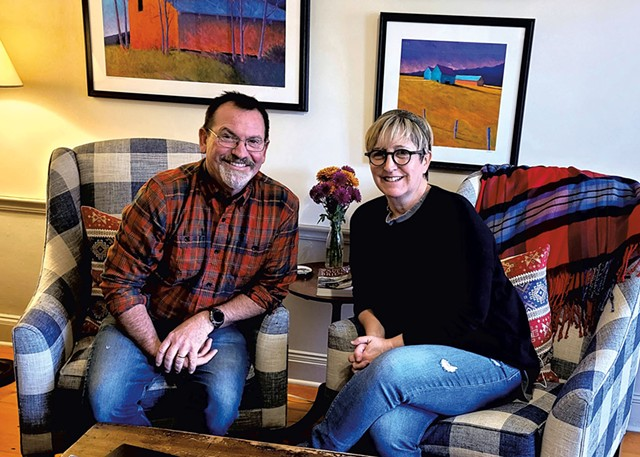 Kevin and Sue Harter - COURTESY OF ROCKWELL'S RETREAT