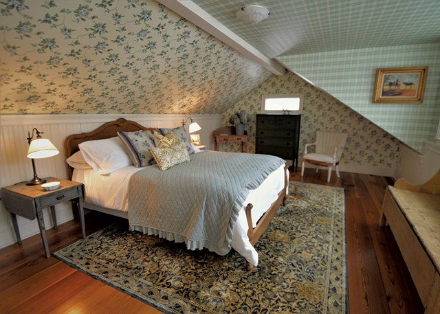 The Mountain View Room - COURTESY OF ROCKWELL'S RETREAT