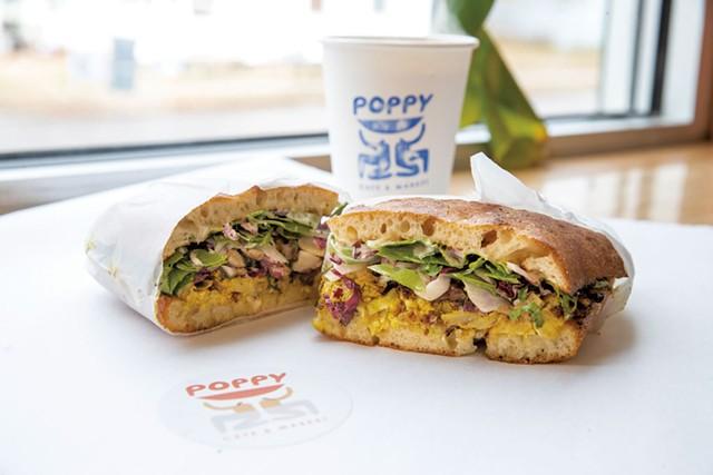 First Date sandwich from Poppy Café & Market - JAMES BUCK