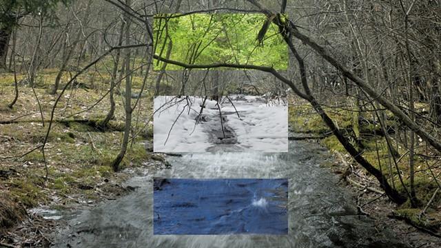 """""""Snake Mt. Stream"""" - COURTESY OF JOHN HUDDLESTON"""