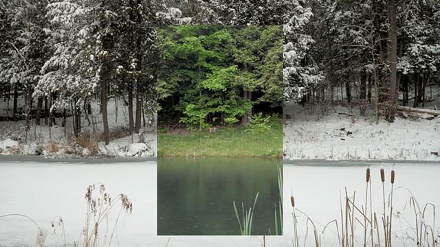 """""""Snake Mt. Pond"""" - COURTESY OF JOHN HUDDLESTON"""