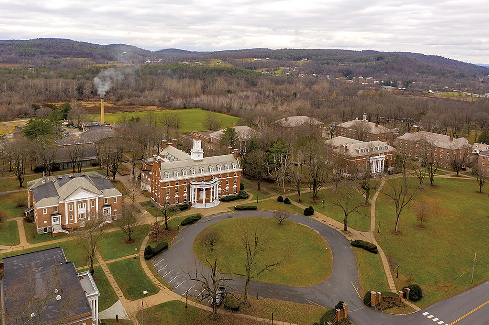 The Green Mountain College campus in Poultney - CALEB KENNA