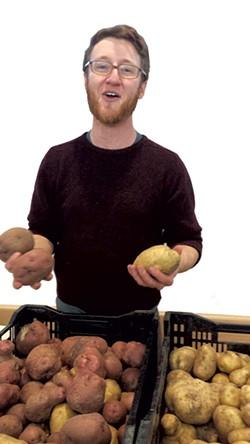 Good Food Trailer's Emmet Moseley - MELISSA HASKIN