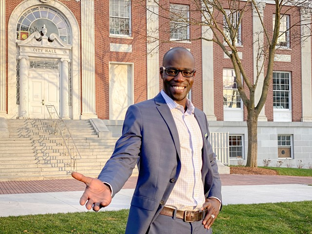 City Councilor Ali Dieng - COURTESY OF ORAH MOORE