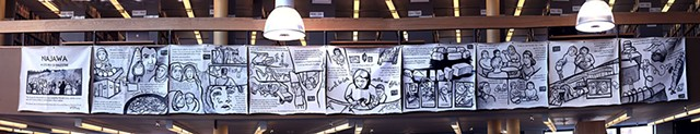 """Najawa"" at the Fletcher Free Library - MATTHEW THORSEN"