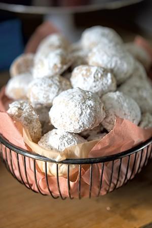Brown-butter hazelnut wedding cookies from Das ButterHaus - CALEB KENNA