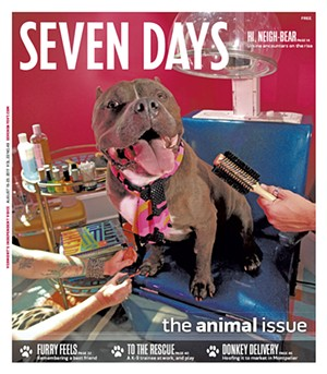 August 2017 Seven Days cover featuring Tank - FILE: MATTHEW THORSEN | REV. DIANE SULLIVAN