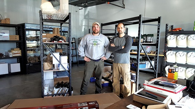 Shawn Trout and Kevin Jarvis of 1st Republic Brewing
