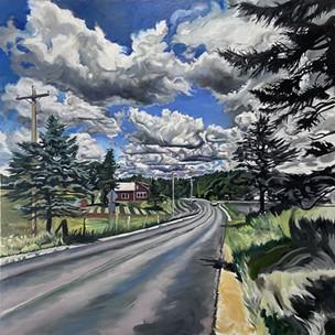 """Randolph Road"" by James Rauchman - COURTESY OF JAMES RAUCHMAN"