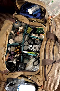 Dr. Sturgis' travel bag - MATTHEW THORSEN