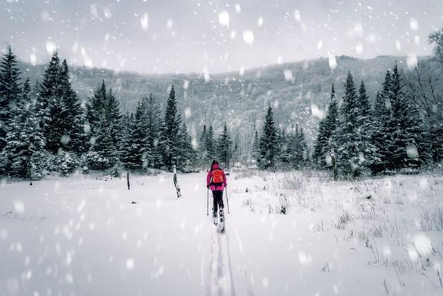 Backcountry skiing at Bolton Valley - RYAN SMITH