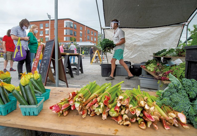 The Capital City Farmers Market on Taylor Street - FILE: JEB WALLACE-BRODEUR