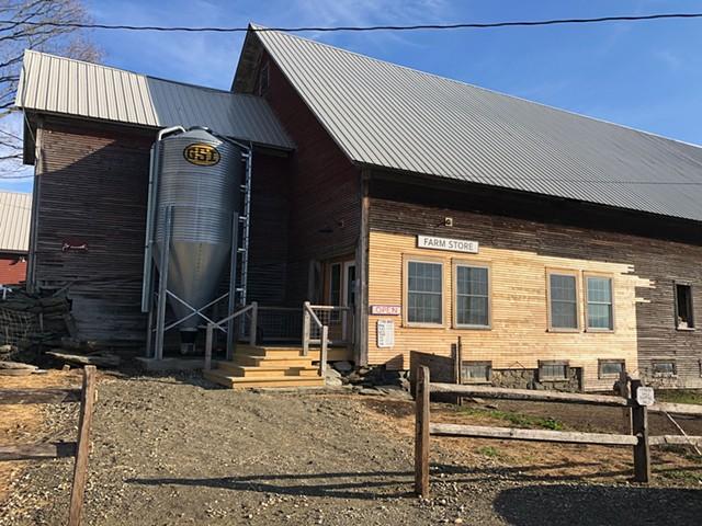 The von Trapp Farmstead farm store - JORDAN BARRY ©️ SEVEN DAYS