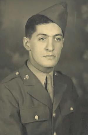 Eddie Toney during World War II - COURTESY