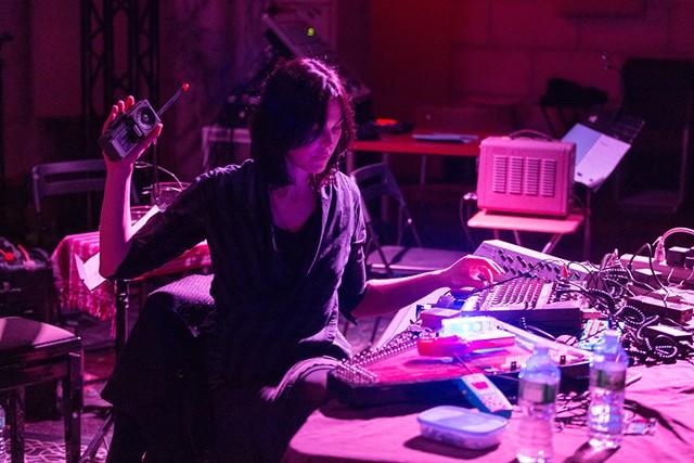 Olivia Block performing