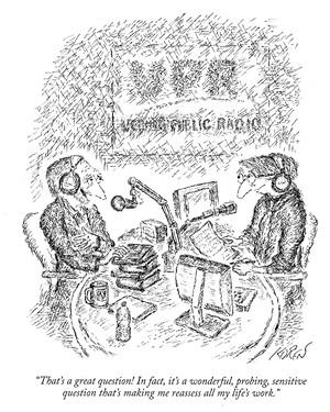 © The New Yorker, March 23, 2020/Courtesy Of Ed Koren - ED KOREN CARTOON