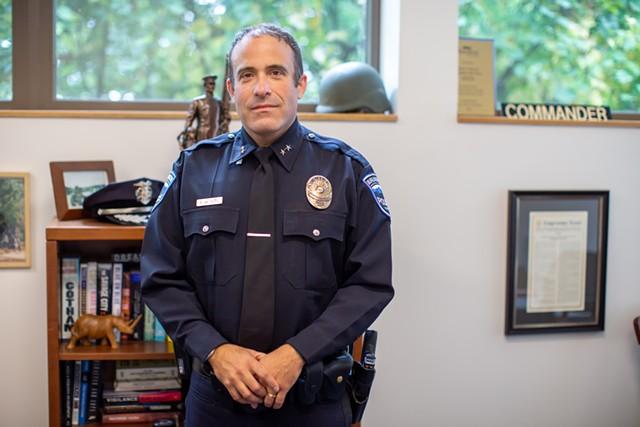Former chief Brandon del Pozo - FILE: LUKE AWTRY ©️ SEVEN DAYS