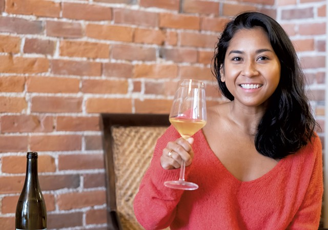 Sipha Lam of Wilder Wines - COURTESY OF WILDER WINES/PATRICIA TRAFTON
