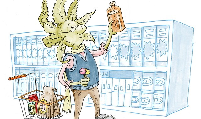 Marijuana products could be sold in Burlington - FILE: LUKE EASTMAN