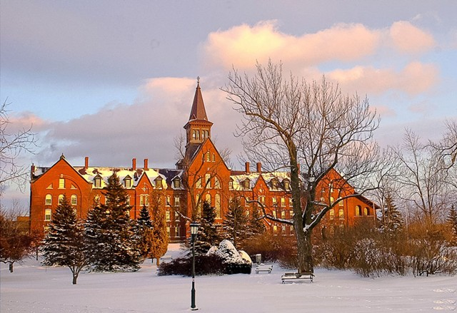 University of Vermont campus in Burlington - COURTESY OF SALLY MCCAY