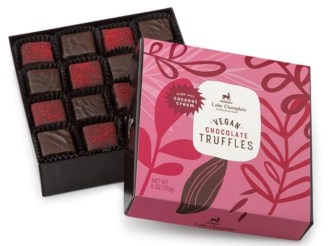 Vegan truffles from Lake Champlain Chocolates - COURTESY OF LAKE CHAMPLAIN CHOCOLATES