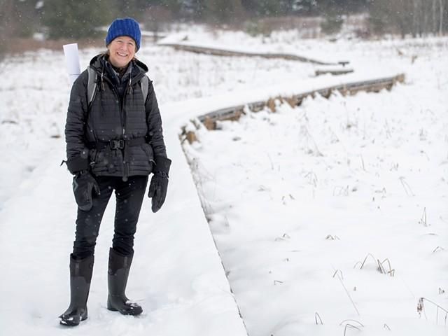 Elizabeth Billings at Raven Ridge Natural Area - DARIA BISHOP