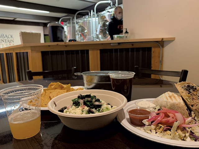 Beer and food at Hogback Brewing - MELISSA PASANEN